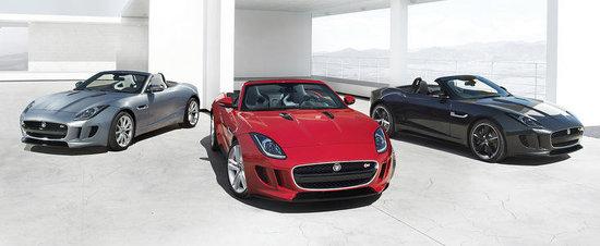 Jaguar F-Type isi face aparitia in prima poza oficiala, arata splendid