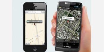 Motorola ia peste picior noua aplicație de hărți a celor de la Apple: Google Maps te va duce unde vrei, nu în mijlocul pustietății