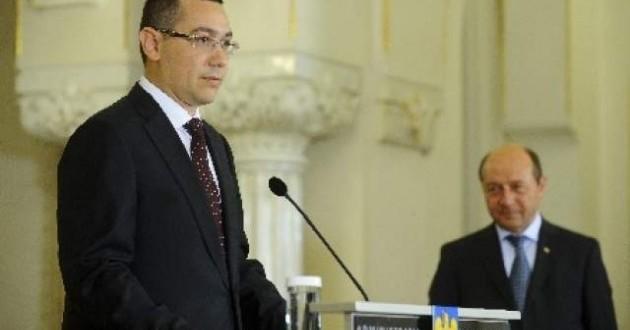Cum il ataca Ponta pe Basescu in moalele UE