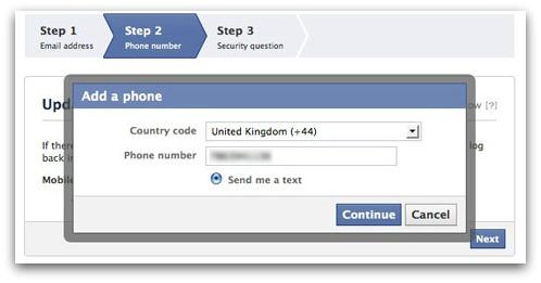 Protejează-ţi numărul de telefon pe Facebook