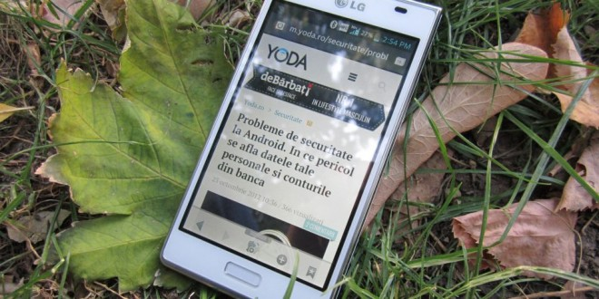 Review LG Optimus L7 [YODA.RO]