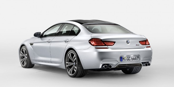 OFICIAL: BMW M6 Gran Coupe