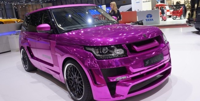 Cocalar de Geneva! Cui i-ar sta bine intr-un asemenea Range Rover? VIDEO