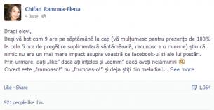 Lectia de gramatica de pe Facebook. Mesajul unei profesoare de limba romana a devenit viral peste noapte