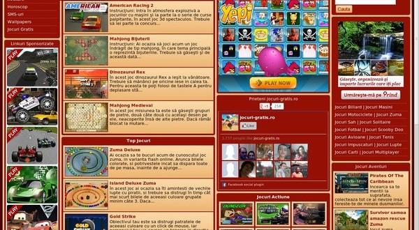 Avem un nou website de jocuri online!