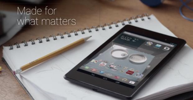 Noua tableta Nexus 7 este gadgetul cu cea mai buna rezolutie din lume