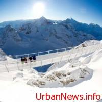 Record: Elveţienii au construit un pod suspendat la o altidudine de 3.000 de metri